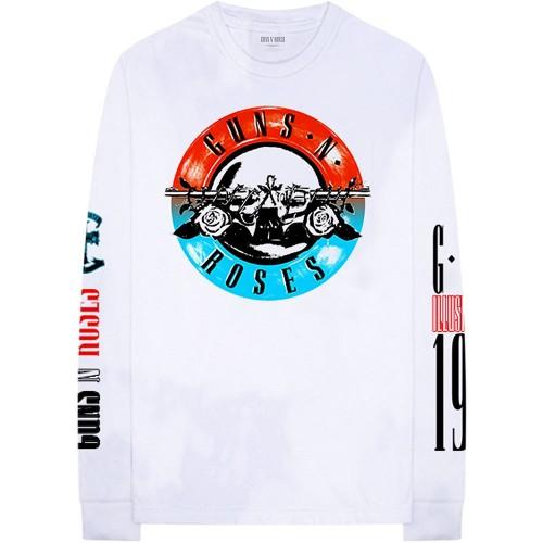 Tricou mânecă lungă Guns N' Roses Motorcross Logo