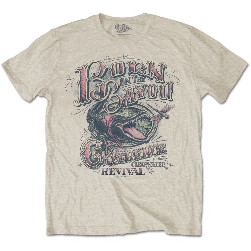 Tricou Creedence Clearwater Born on the Bayou
