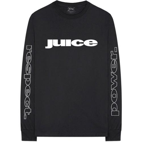 Tricou mânecă lungă Tupac Respect
