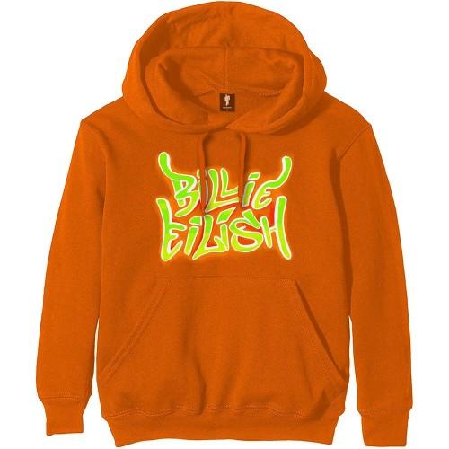 Hanorac Billie Eilish Airbrush Flames Blohsh