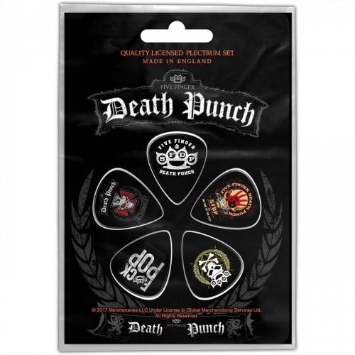Set Pene Chitara Five Finger Death Punch Logos