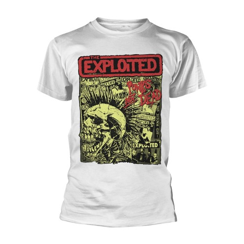 Tricou The Exploited Punks Not Dead