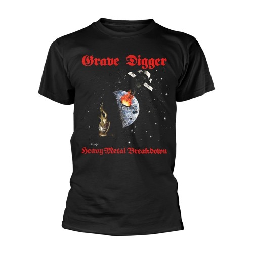 Tricou Grave Digger Heavy Metal Breakdown