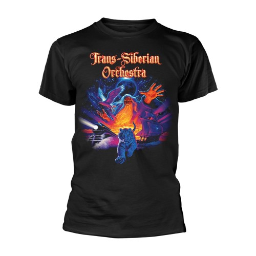 Tricou Trans-Siberian Orchestra Tiger Collage