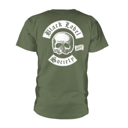Tricou Black Label Society Skull Logo Pocket