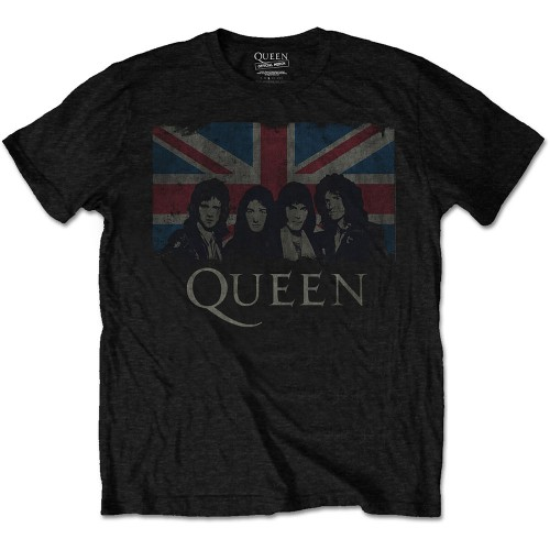 Tricou Queen Vintage Union Jack