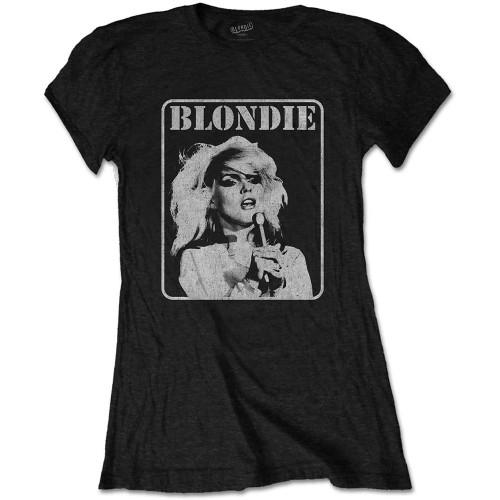 Tricou Damă Blondie Presente Poster