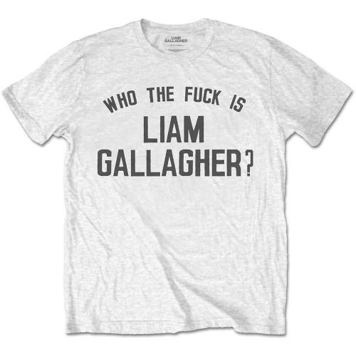Tricou Liam Gallagher Who the Fuck…