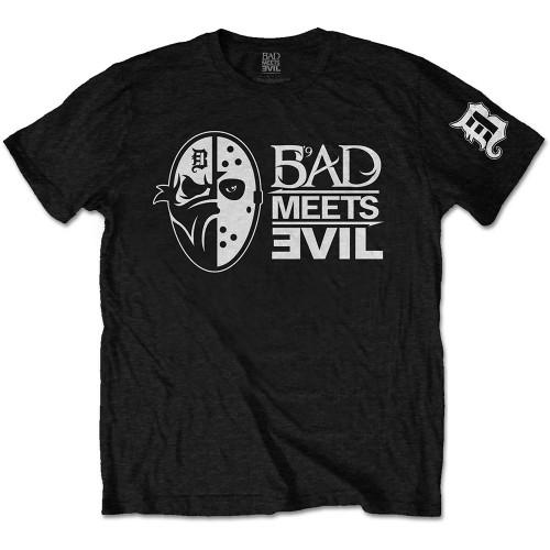 Tricou Bad Meets Evil Masks