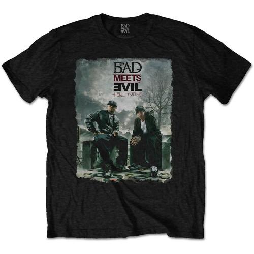Tricou Bad Meets Evil Burnt