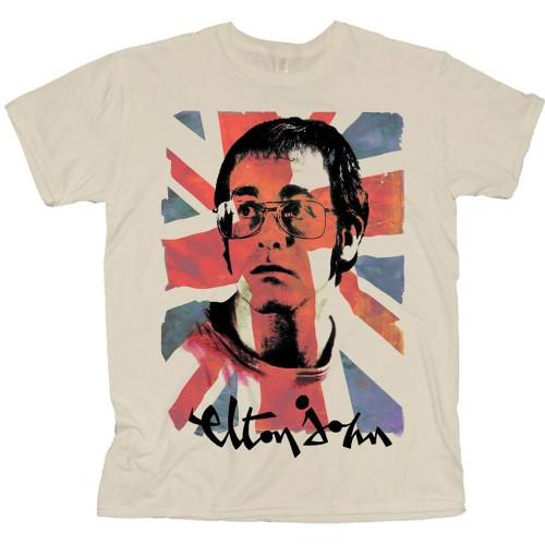 Tricou Elton John Union Jack