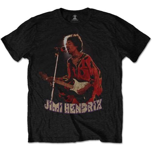 Tricou Jimi Hendrix Orange Kaftan