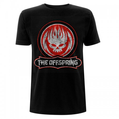 Tricou The Offspring Distressed Skull