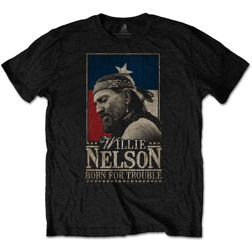 Tricou Willie Nelson Born For Trouble