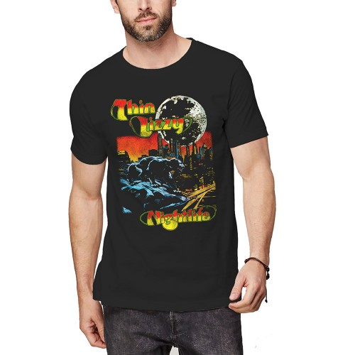 Tricou Thin Lizzy Nightlife Colour