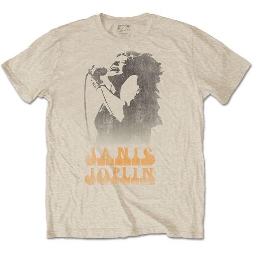 Tricou Janis Joplin Working The Mic