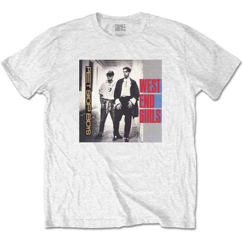 Tricou Pet Shop Boys West End Girls