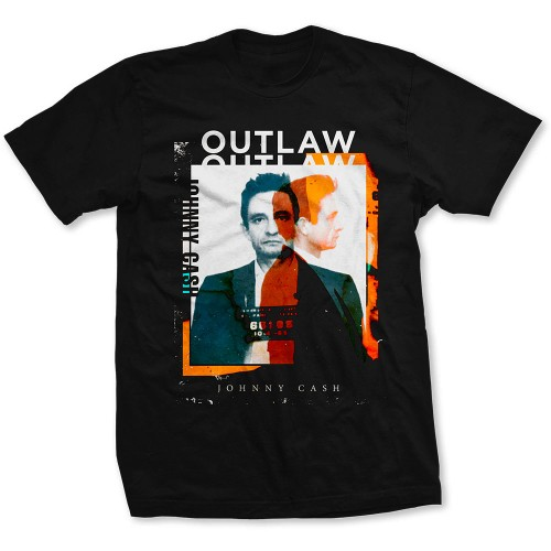 Tricou Johnny Cash Outlaw Photo