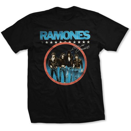 Tricou Ramones Circle Photo
