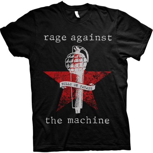 Tricou Rage Against The Machine Bulls On Parade Mic