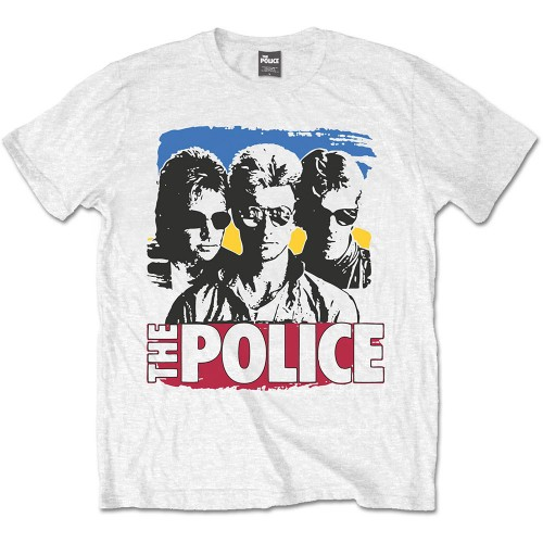 Tricou The Police Band Photo Sunglasses