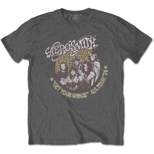 Tricou Aerosmith Cheetah Print