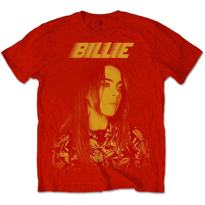 Billie Eilish Unisex Tee: Racer Logo Jumbo