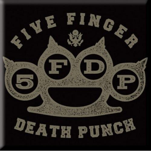 Magnet Five Finger Death Punch Brass Knuckle