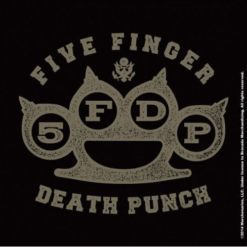 Suport pahar Five Finger Death Punch Brass Knuckle