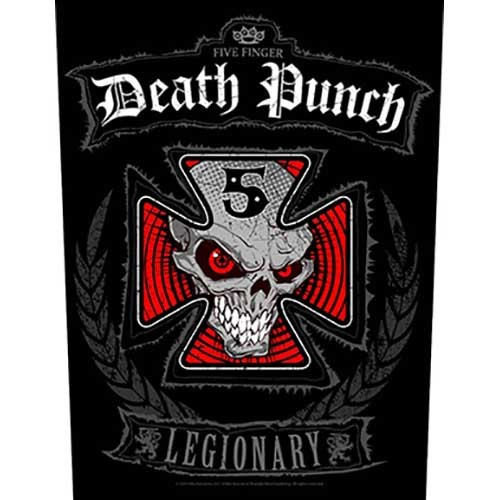 Back Patch Five Finger Death Punch Legionary