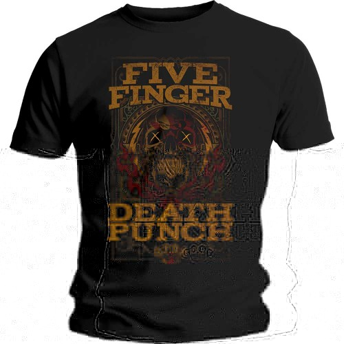 Tricou Five Finger Death Punch Wanted