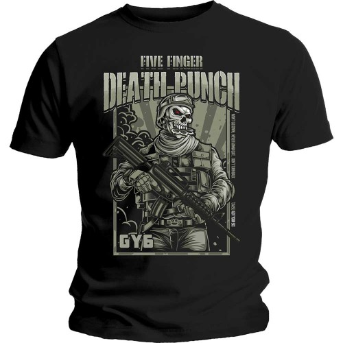 Tricou Five Finger Death Punch War Soldier