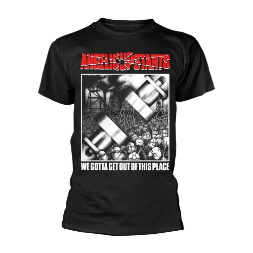 Tricou Angelic Upstarts We Gotta Get Out Of This Place