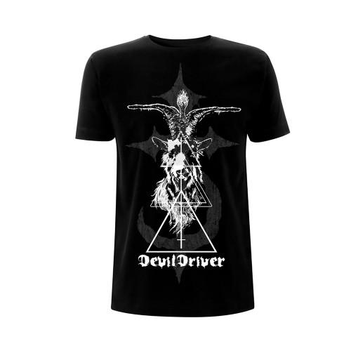 Tricou Devildriver Baphomet