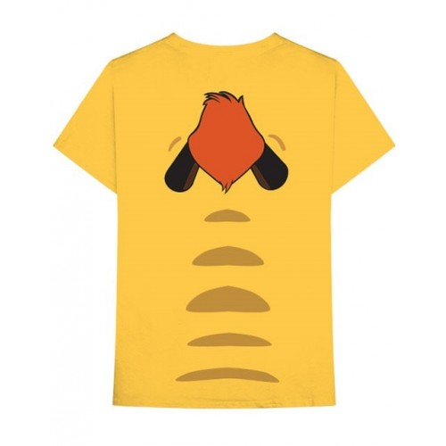 Disney Unisex Tee: Lion King Timon (Back Print)
