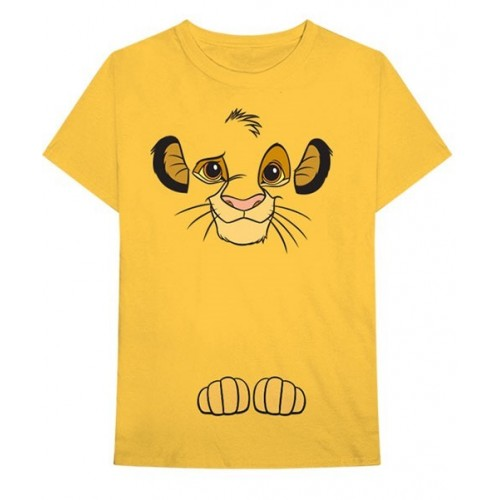 Disney Unisex Tee: Lion King Simba (Back Print)