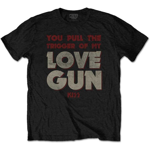 Tricou KISS Pull The Trigger