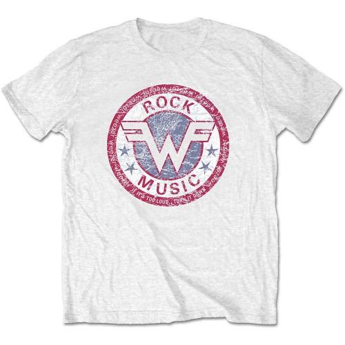 Tricou Weezer Rock Music