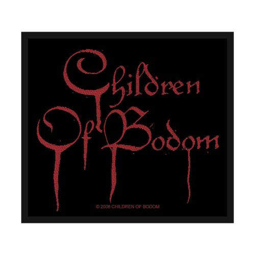 Patch Children Of Bodom Blood Logo