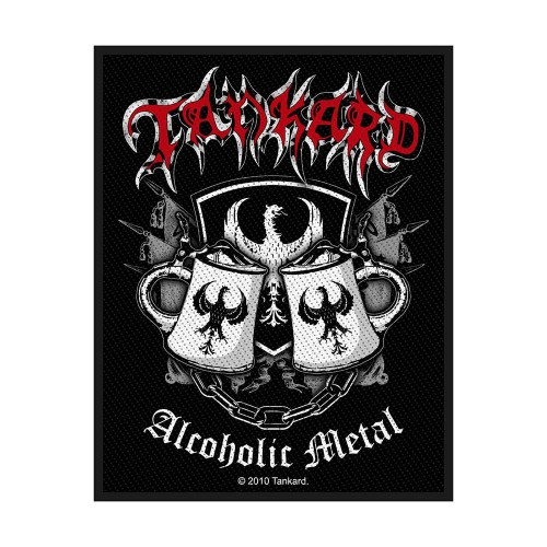 Patch Tankard Alcoholic Metal
