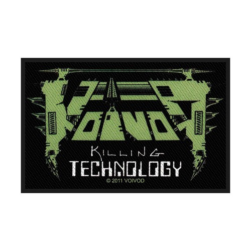 Patch Voivod Killing Technology
