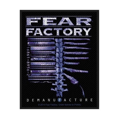 Patch Fear Factory Demanufacture