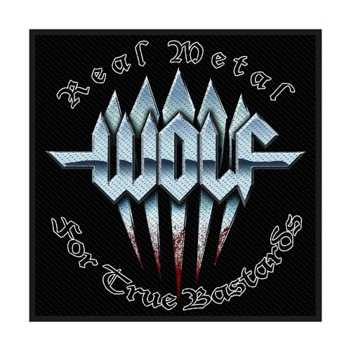 Patch Wolf Real Metal