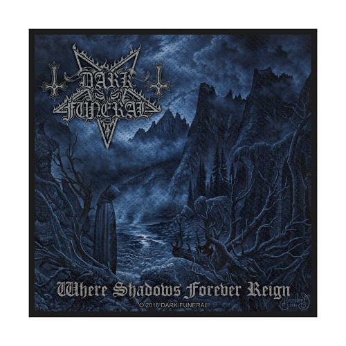 Patch Dark Funeral Where Shadows Forever Reign