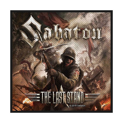 Patch Sabaton The Last Stand