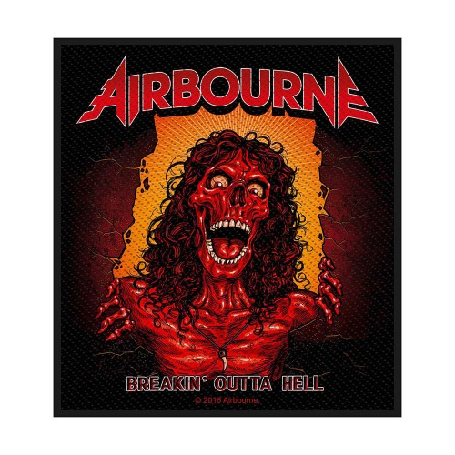 Patch Airbourne Breakin' Outa Hell