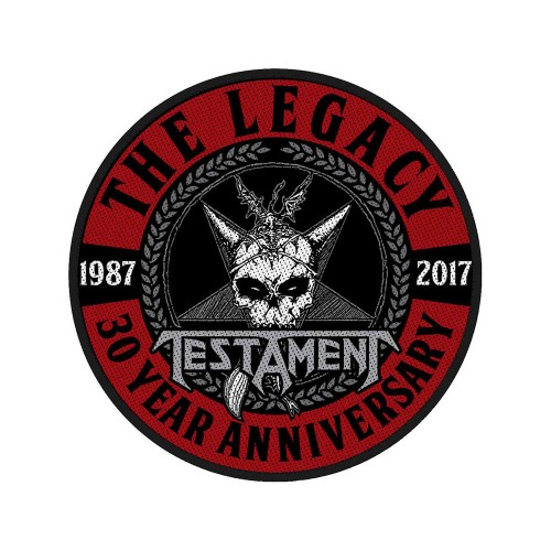 Patch Testament The Legacy 30 Year Anniversary