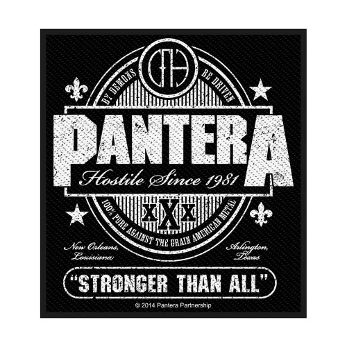 Patch Pantera Stronger Than All
