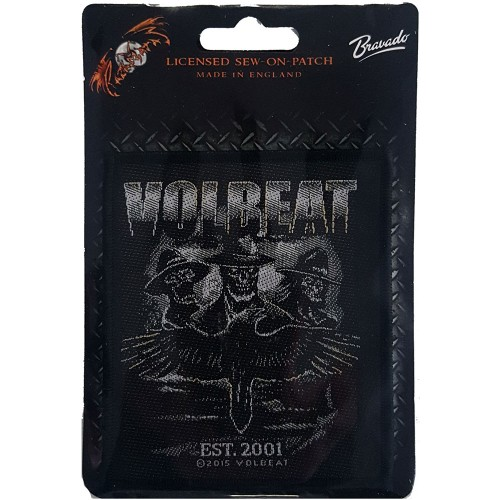 Patch Volbeat Outlaw Raven