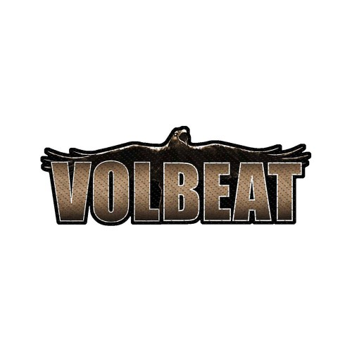 Patch Volbeat Raven Logo Cut-out
